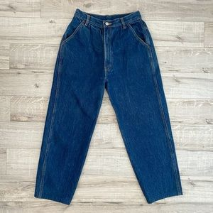 Vintage Perspective Cropped High Waisted Jeans 7